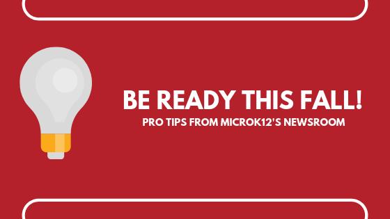 Be Ready This Fall Blog Header